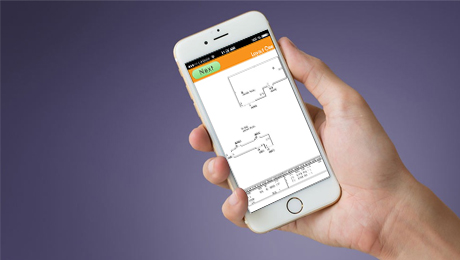 Mobile app to build and display estimates and quotes.