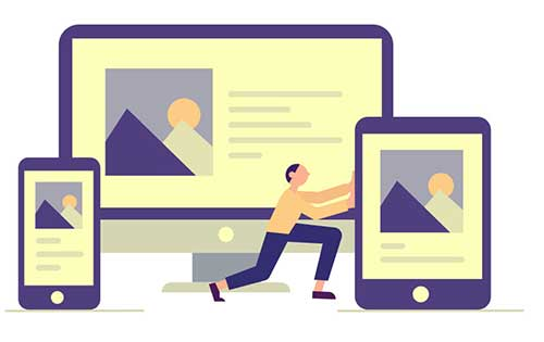 Responsive website development and web design with KW Works