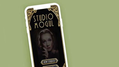 Mogul game simulating the golden age of film creation.